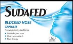 SUDAFED Blocked Nose - 12 Capsules