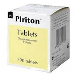 PIRITON 4mg - 500 Tablets