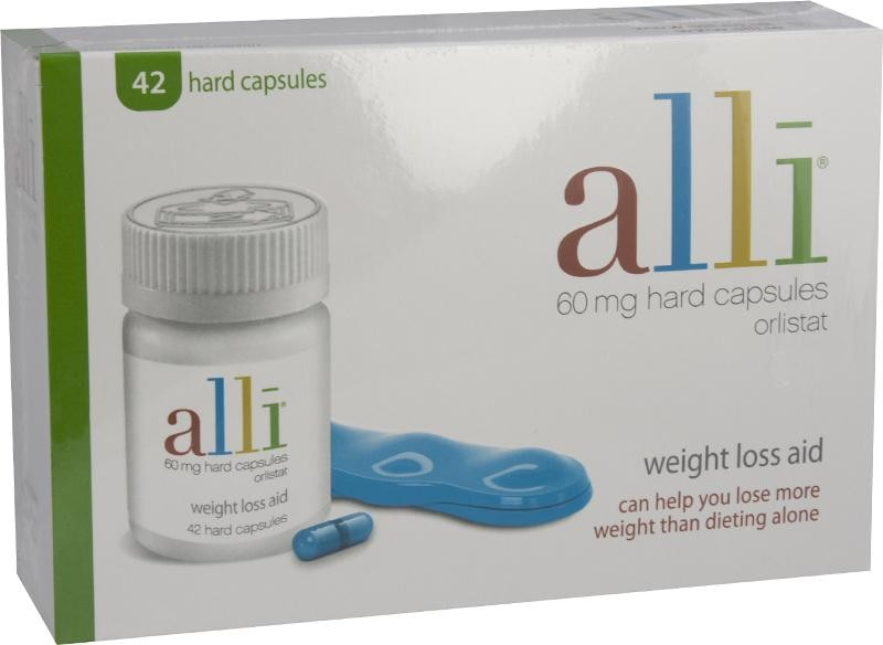 Alli capsules 60mg 42 pack