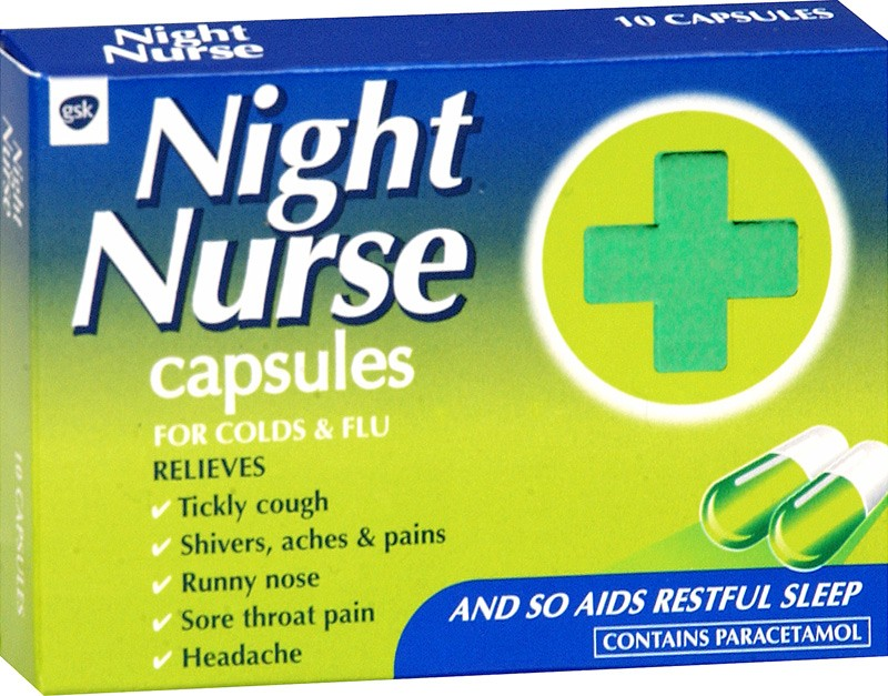 Night Nurse - 10 Capsules from Better Chemist - Buy Online Now