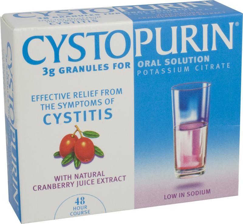 Cystitis self treatment
