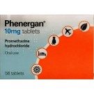 PHENERGAN Tablets 10mg - 56 Pack