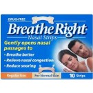 BREATHE RIGHT Nasal Strips Small/Medium - 10 Strips