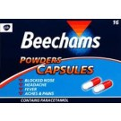 BEECHAMS Powders Capsules - 16 Pack
