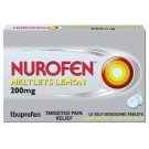 NUROFEN MELTLETS 200mg tablets - 12 pack