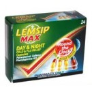 LEMSIP Max Day & Night Cold & Flu Capsules - 24 Pack