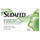 SUDAFED Blocked Nose & Headache - 16 Tablets