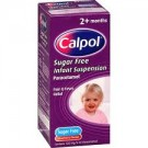 CALPOL infant suspension sugar/colour-free 120mg/5ml -100ml