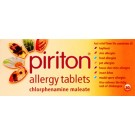 PIRITON 4mg - 30 Tablets