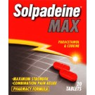 SOLPADEINE MAX - 20 Tablets *Please note - we can only dispatch up to 2 codeine items per order*