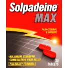SOLPADEINE Max - 30 Tablets *Please note - we can only dispatch up to 2 codeine items per order*