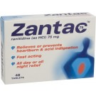 ZANTAC Ranitidine - 48 Tablets ***DISCONTINUED***