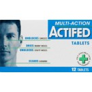 ACTIFED Multi Action - 12 Tablets