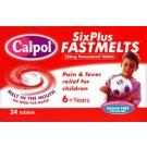 CALPOL Six Plus Fastmelts 250mg - 24 Tablets