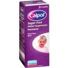CALPOL infant suspension sugar-free 120mg/5ml -200ml