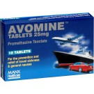 AVOMINE 25mg - 10 Tablets