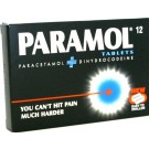 PARAMOL - 12 Tablets  Please note we can only despatch 1 codeine product per order
