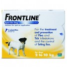 Frontline Spot on for Small Dogs - 3 Pipettes