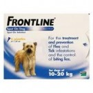 Frontline Spot on for Medium Dogs - 6 Pipettes