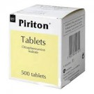 PIRITON 4mg - 500 Tablets