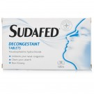 SUDAFED Decongestant - 12 Tablets