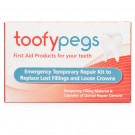 TOOFYPEGS Emergency Temporary Repair Kit To Replace Lost Fillings & Crowns