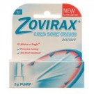ZOVIRAX Cold Sore Cream Pump - 2g