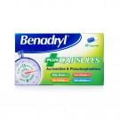 BENADRYL Plus - 12 Capsules