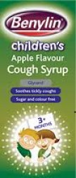 BENYLIN Childrens apple Cough Syrup 125ml