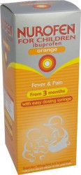 NUROFEN FOR CHILDREN Suspension Orange - 200ml