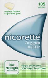 NICORETTE Original Chewing Gum 2mg - 105 Pieces
