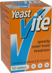 YEAST-VITE - 50 Tablets