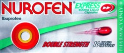 NUROFEN EXPRESS Liquid capsules 400mg -10 pack