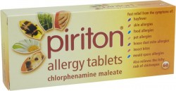 PIRITON 4mg - 60 Tablets