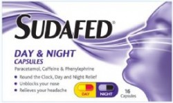 SUDAFED Mucus Relief Day & Night - 16 Capsules