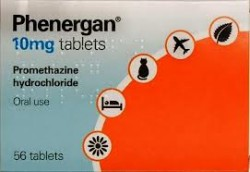 PHENERGAN 10mg - 56 Tablets