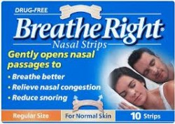 BREATHE RIGHT Nasal Strips Small/Medium - 10 Strips
