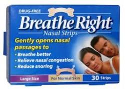 BREATHE RIGHT Nasal Strips Large - 30 Strips
