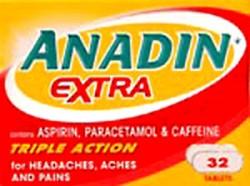 ANADIN Extra - 32 Tablets