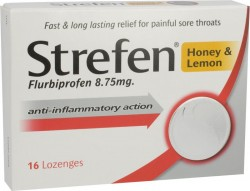 STREFEN Honey & Lemon - 16 Lozenges
