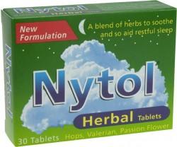 NYTOL Herbal Tablets - 30 Pack