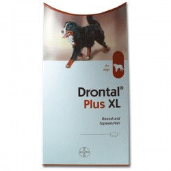 DRONTAL Plus Flavour For Dogs XL - 2 Tablets