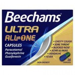 BEECHAMS All-In-One Ultra - 16 Capsules