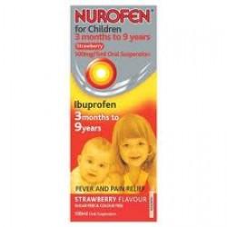 NUROFEN FOR CHILDREN Suspension Strawberry - 100ml