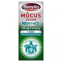 BENYLIN Mucus Cough Menthol 150ml