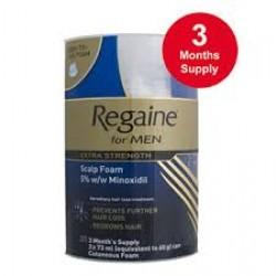 REGAINE For Men Foam  - 3 Months Supply - 60ml