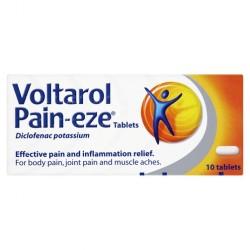 VOLTAROL Pain-eze Tablets 12.5mg - 10 Pack