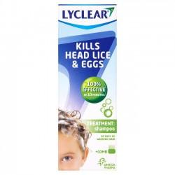 LYCLEAR Treatment Shampoo & Comb - 200ml