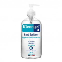 Kleengel Anti-Bacterial 70% Alcohol Hand Sanitiser 300ml