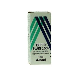 ISOPTO Plain Eye Drops Solution 0.5% - 10ml